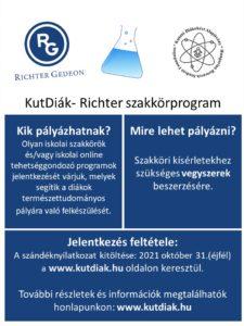 KutDiák - Richter szakkörprogram